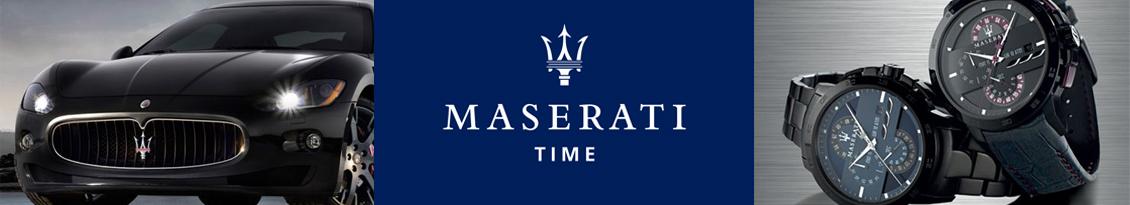 Marque montres Maserati