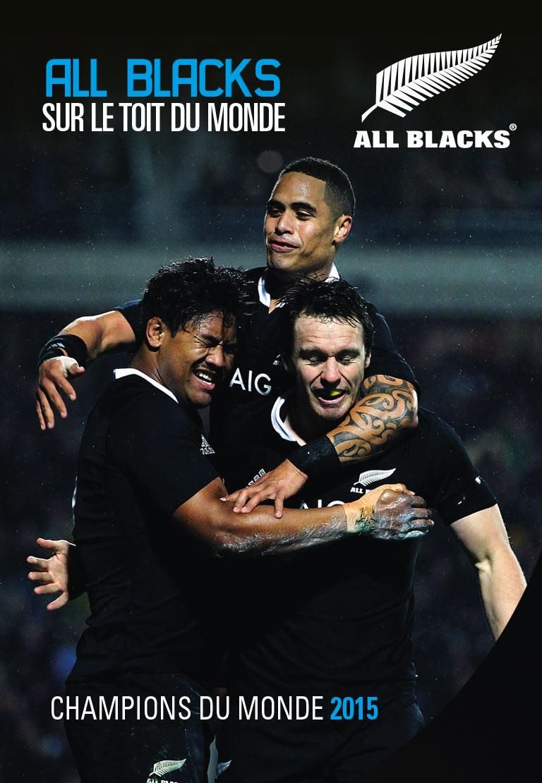 All Blacks vainqueur de la coupe du monde